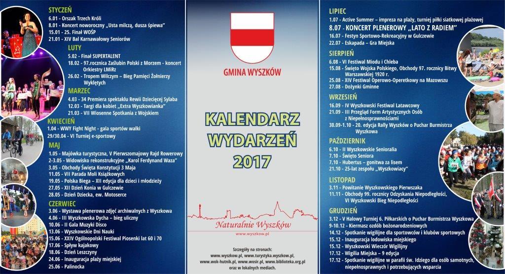 KALENDARZ GMINNY 2017