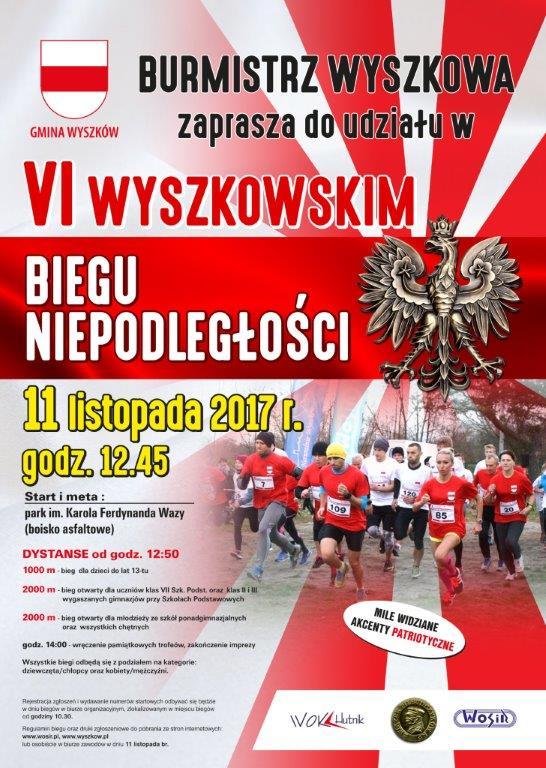 wyszkowski bieg 2017- PLAKAT